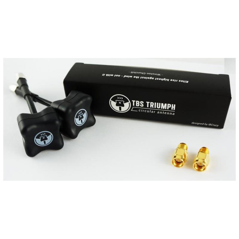 tbs triumph antenna rpsma (1 pair) – multirotor shop
