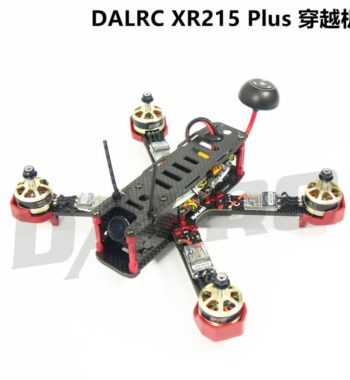DALRC XR215 Plus Full Carbon Fiber Quad Frame for FPV Racing FPV Build in OSD BEC BB buzzer