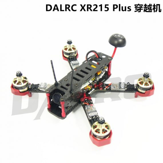 DALRC XR215 Full Carbon Fiber Quad Frame for FPV Racing FPV Build in OSD BEC BB buzzer