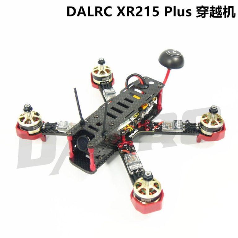 DALRC XR215 Full Carbon Fiber Quad Frame for FPV Racing FPV Build in OSD BEC BB buzzer