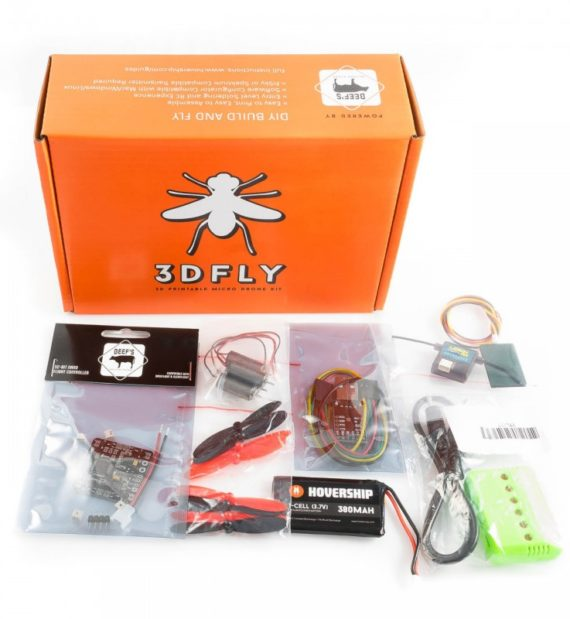 Hovership 3DFly Micro Quadcopter Kit