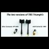 TBS Triumph Antenna SMA ( 1 pair)
