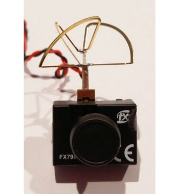 FX FX798T 5.8G 25mW 40CH Mini Transmitter Camera for Tiny Whoop/ Kyosho mini-Z