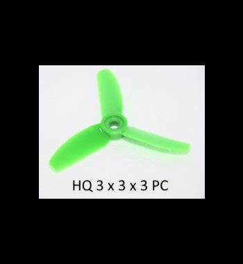 HQ Durable Prop 3X3X3 Green (2CW+2CCW)-Poly Carbonate
