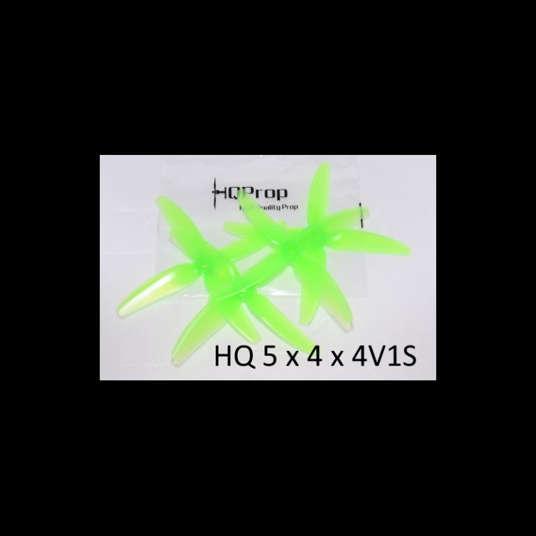 "HQ Durable Prop 5x4x4V1S Light Green (2CW+2CCW)-Poly Carbonate ""Chad Props"""
