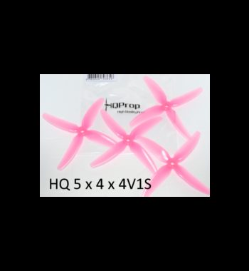 "HQ Durable Prop 5x4x4V1S Light Pink(2CW+2CCW)-Poly Carbonate ""Chad Props"""