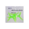 "HQProps DP 5x4x3V1S Light Green (2CW+2CCW)-Poly Carbonate ""Chad Props"""