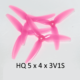 "HQPROPS Durable Prop DP5x4x3V1S Light Pink(2CW+2CCW)-Poly Carbonate ""Chad Props"""