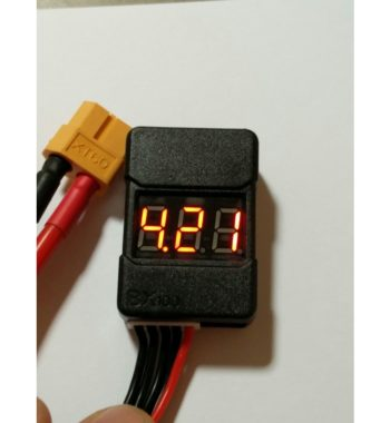 2s - 8s Low Voltage Alarm Buzzer and Cell Checker
