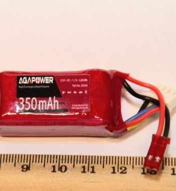 AGAPOWER 3s 350mah 30C Lipo Battery for Emax Babyhawk and Blade Torrent Jst plug