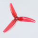 HQProp Durable Prop 5×4.3×3 V1S Light Red2CW+2CCW)-Poly Carbonate