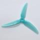 HQProp Durable Prop 5×4.3×3 V1S Light Blue 2CW+2CCW)-Poly Carbonate